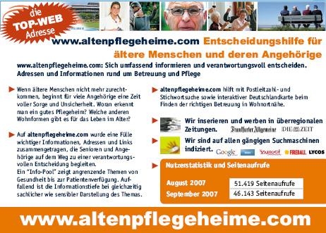 altenheim pflegeheim:
